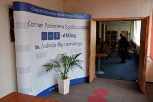 Wejście do sali konferencyjnej