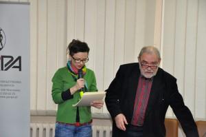 Dorota Woronowicz i Bohdan T. Woronowicz